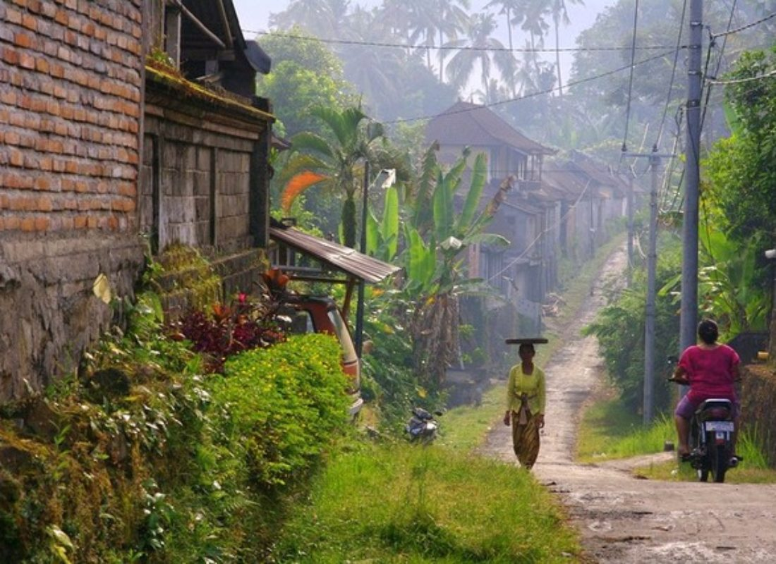A village in Bali, Indonesia
